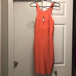 Bebe fitted dress